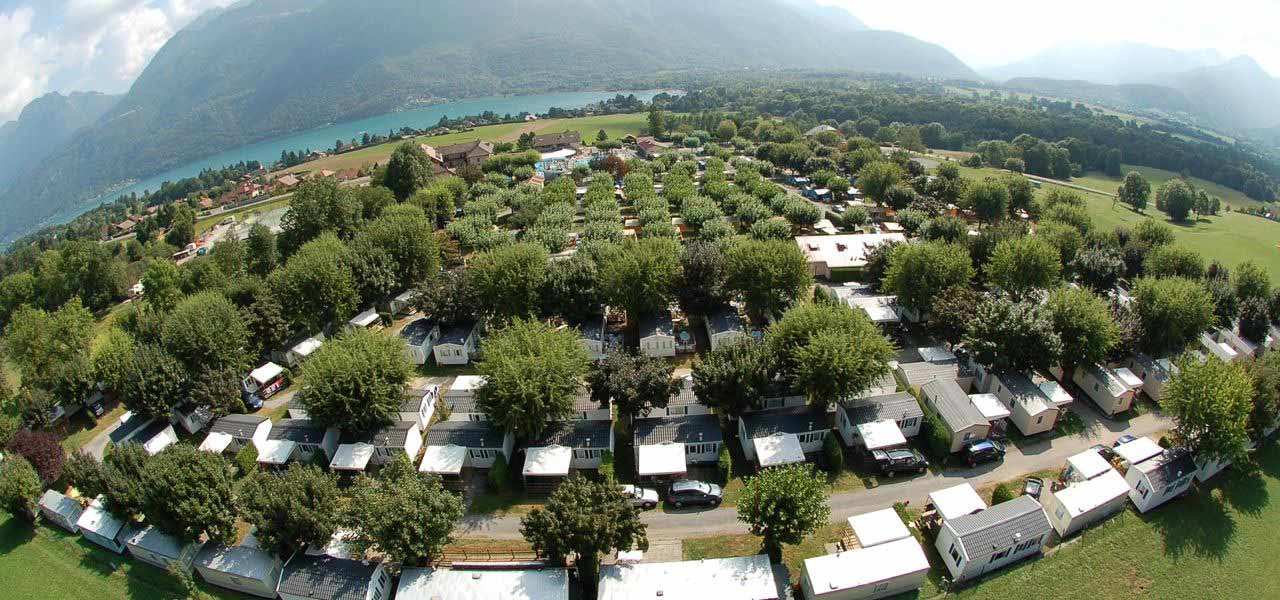 3 Campsites Between Lake Annecy And The Surrounding
