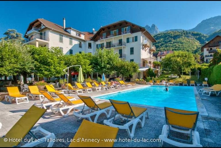 H tels autour du lac d 39 annecy r servation directe au for Meilleur site pour reservation hotel