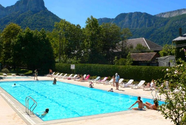 Campings annecy et lac annecy hotel camping r sidence - Camping lac d annecy avec piscine ...
