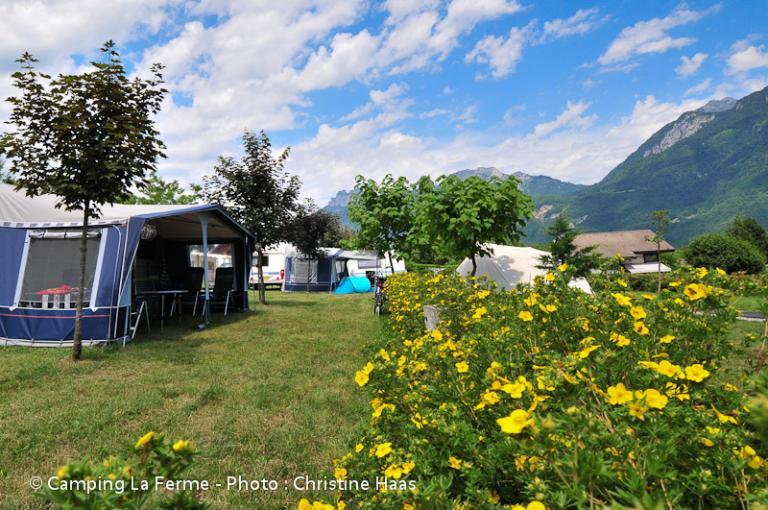 Emplacements caravane, tente ou camping-car