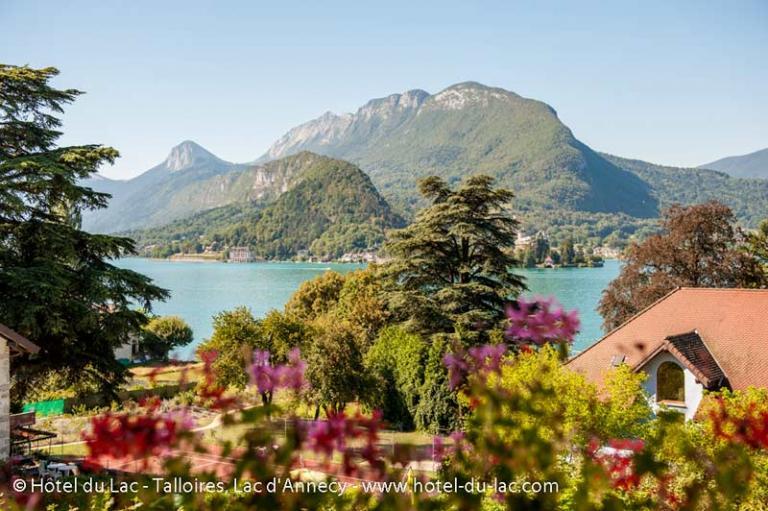 Vue Lac d'Annecy