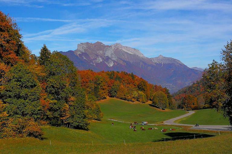 Val de Tamié en automne